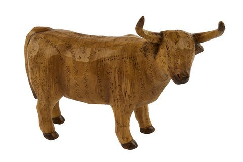 Wood Effect Highland Cow