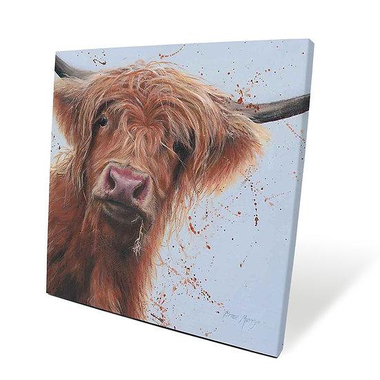 Betsy Cow 40cm Box Canvas