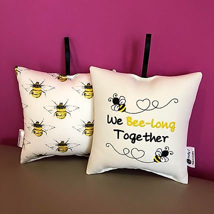 'We Bee-long Together' Hanging Cushion