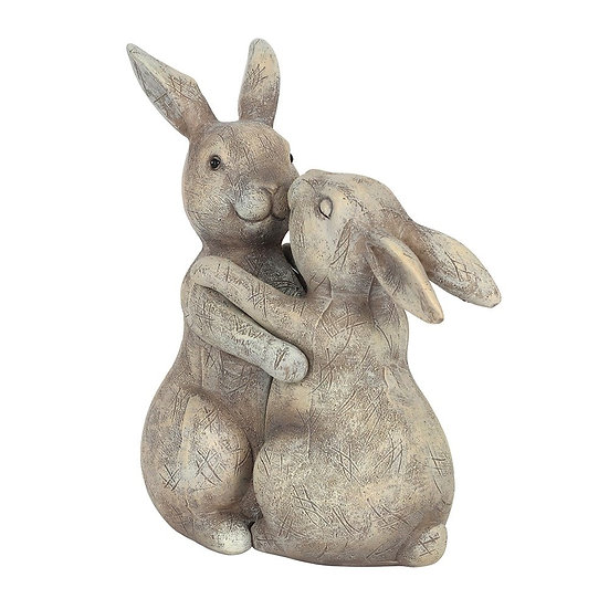 Cuddling Bunnies Ornament
