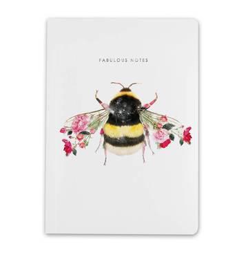 Lola Design A5 Bee Notebook