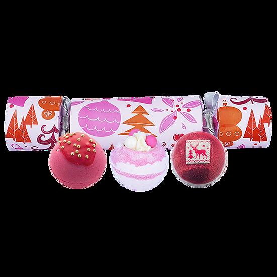 We Wish You A Rosy Christmas Bath Blaster Cracker