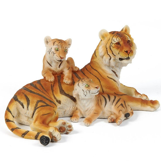 Resin Figure - Tiger Family