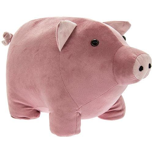 Pink Piggy Doorstop