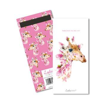 Lola Design Giraffe Magnetic List Pad