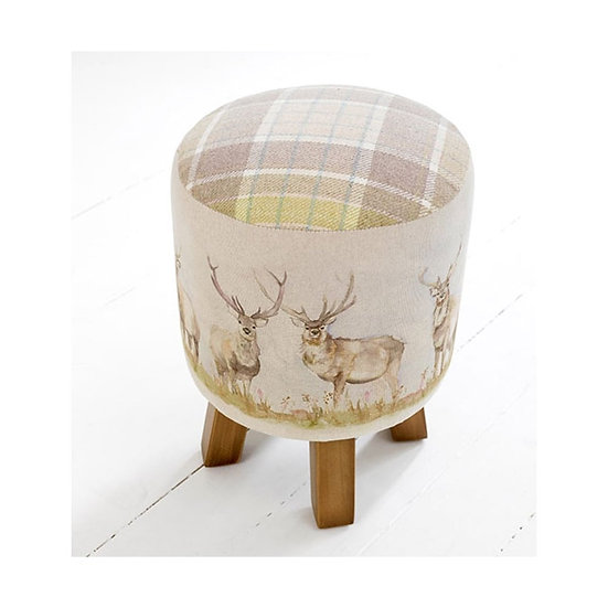 Voyage Maison Monty Footstool- Moorland Stag