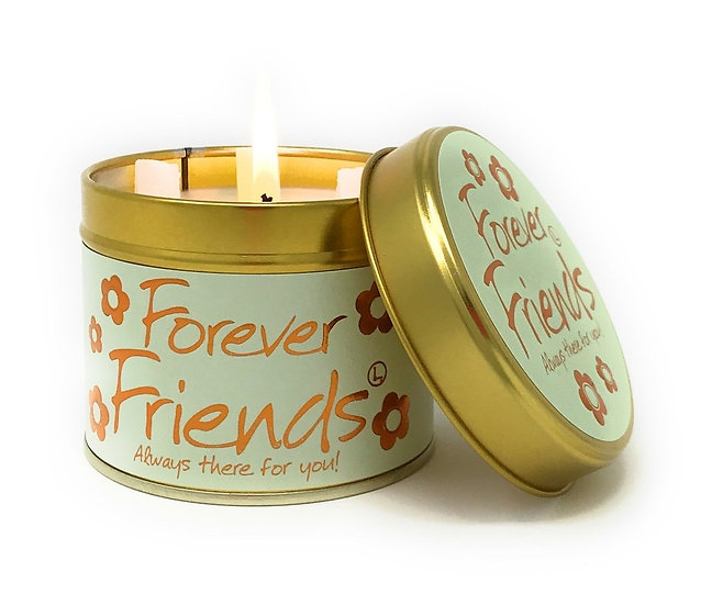 Lily Flame Forever Friends Tin Candle