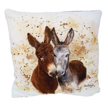 Jack & Diane Donkeys Luxury Feather Cushion - Bree Merryn