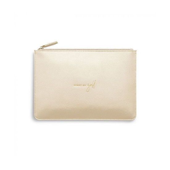 Katie Loxton 'Heart Of Gold' Perfect Pouch