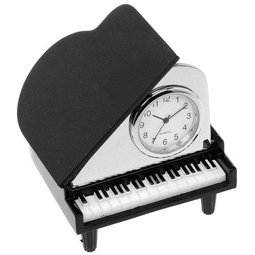 Grand Piano Miniature Desk Clock