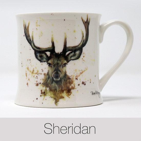 Sheridan Stag China Mug
