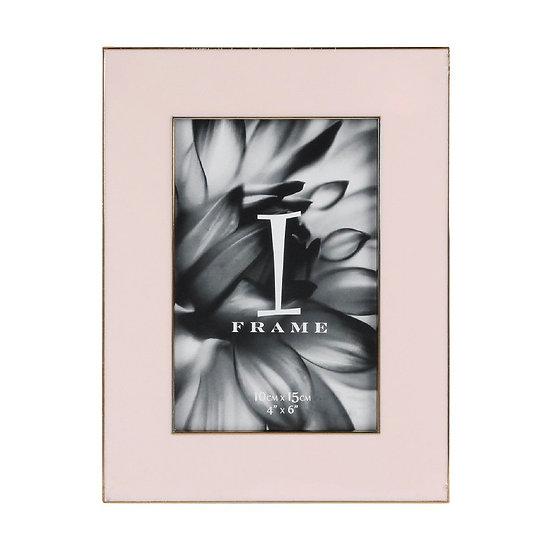 """4"""" x 6"""" iFrame Pastel Pink Photo Frame"""