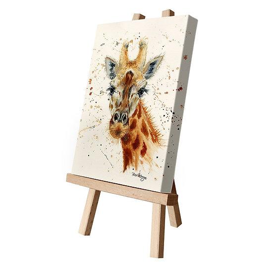 Geraldine Giraffe Canvas Cutie