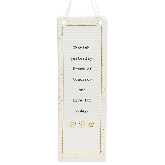 Thoughtful Words Large Hanging Plaque