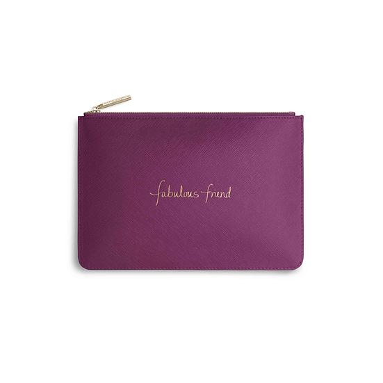 Katie Loxton 'Fabulous Friend' Cerise Pink Perfect Pouch