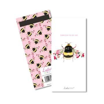Lola Design Bee Magnetic List Pad