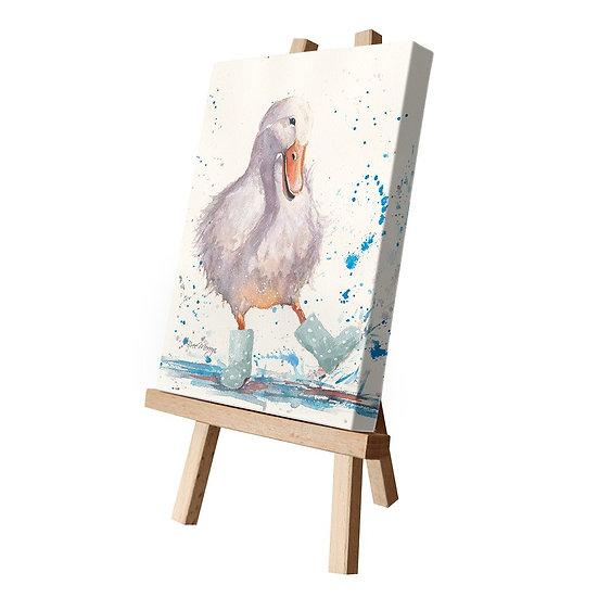 Deidre Duck Canvas Cutie