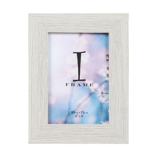 """4"""" x 6"""" iFrame Wood Finish Photo Frame"""