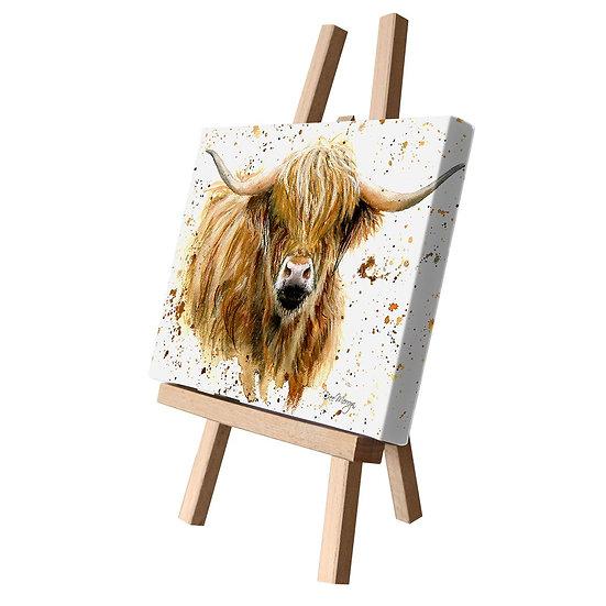 Blair Cow Canvas Cutie