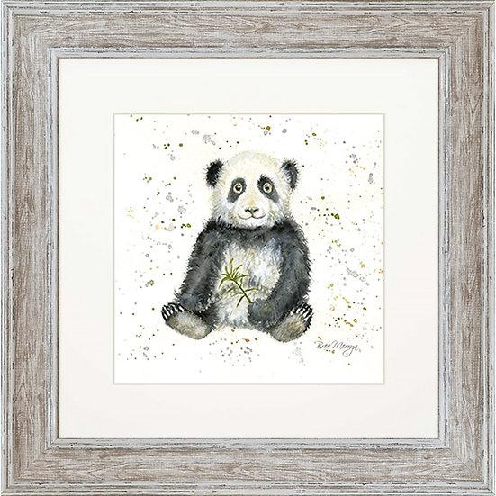 Polly Panda 48cm Square Framed Print