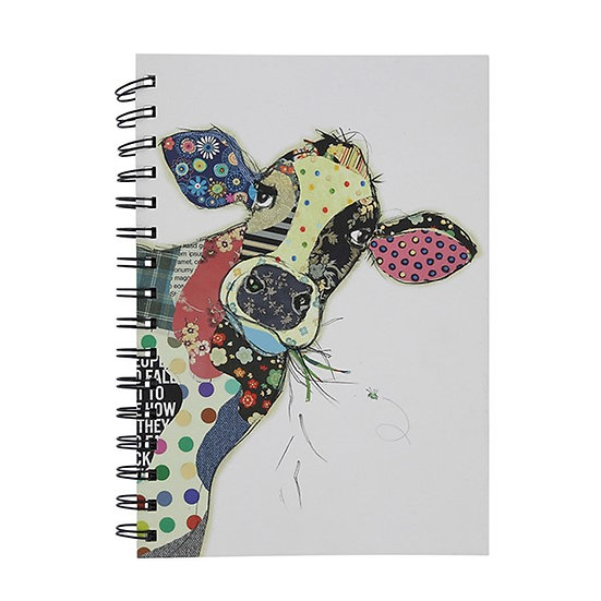 Connie Cow Kooks A6 Notebook