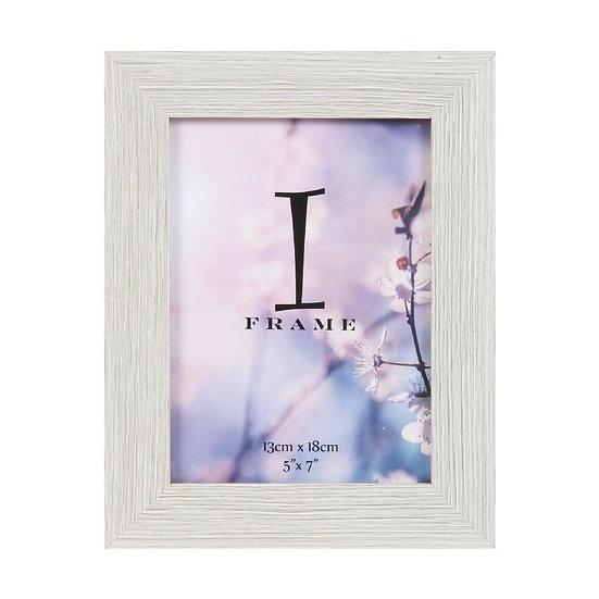 """5"""" x 7' iFrame Wood Finish Photo Frame"""