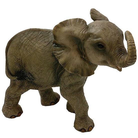 Resin Baby Elephant Ornament