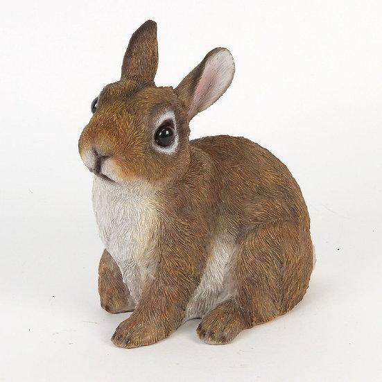 Rabbit Figurine - 17cm - Naturecraft