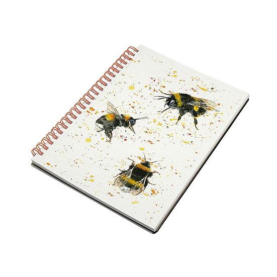 Bees A5 Spiral Notebook