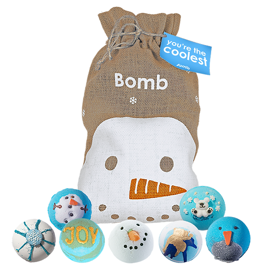 You're The Coolest Bath Blaster Christmas Sack