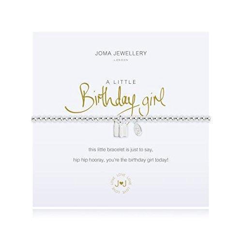 Joma Jewellery Bracelet - A Little Birthday Girl