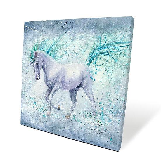 Silvermist Unicorn 40cm Box Canvas