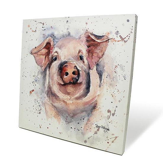 Patrick Pig 40cm Box Canvas
