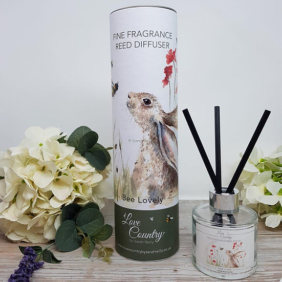 Bee Lovely Fine Fragrance Reed Diffuser 100ml