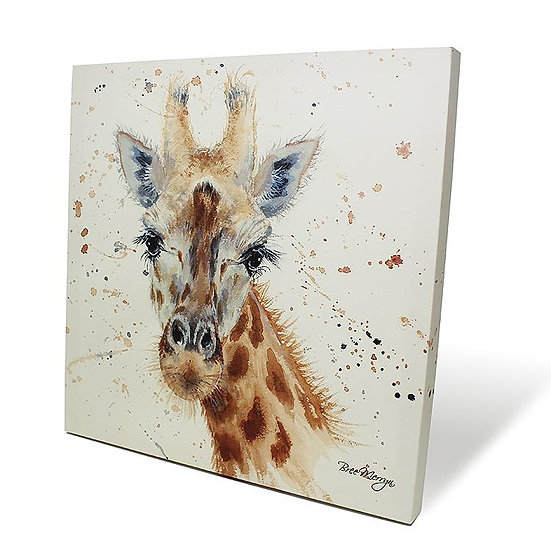 Geraldine Giraffe 40cm Box Canvas