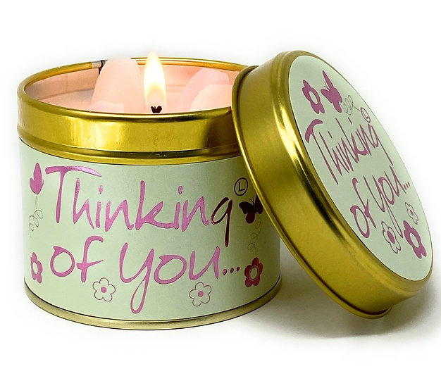 Lily Flame Thinking Of You Tin Candle