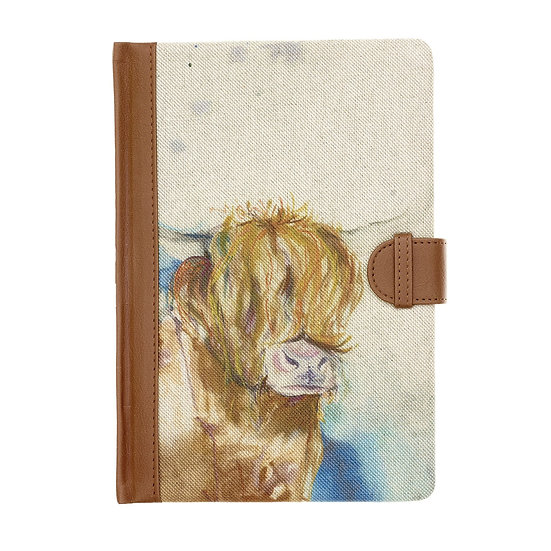 Voyage Maison Cow A5 notebook