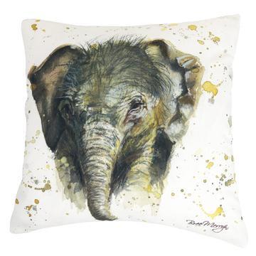 Eliza Elephant Luxury Feather Cushion