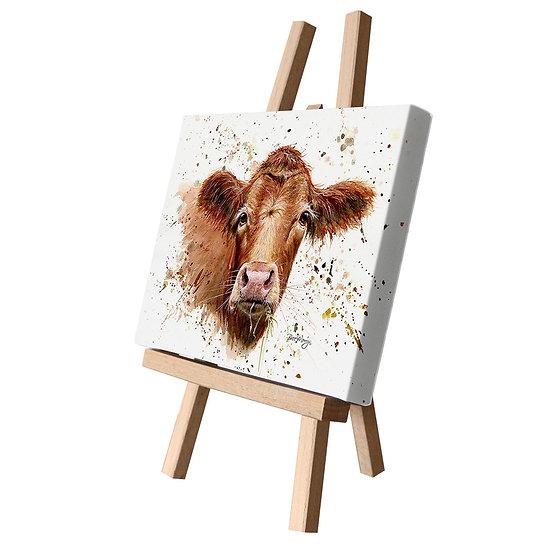 Gertrude Cow Canvas Cutie