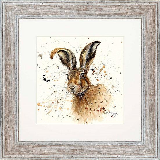 Hugh Hare 48cm square Framed Print
