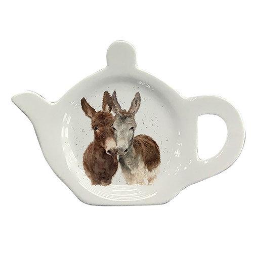 Jack & Diane Donkeys Tea Bag Tidy