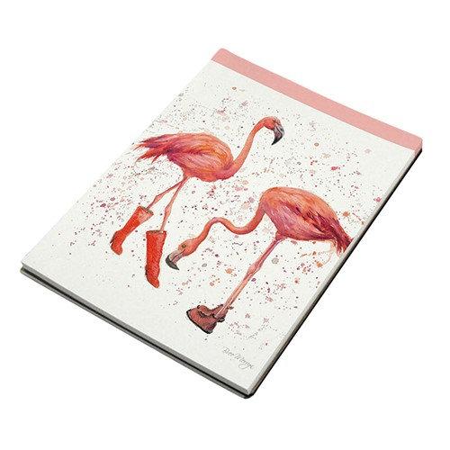 Felicity & Flora Flamingos A7 Notebook