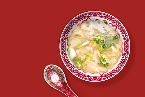 NEW! Asian Chicken Noodle Soup