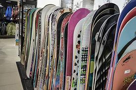 スノーボードのスタック