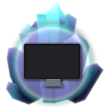 About Kristala glowing crystal icon: in development for PC
