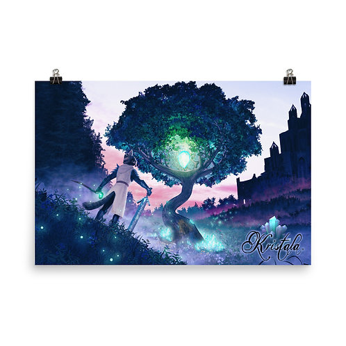 "Kristala ""The Sacred Crystal Calls"" Poster"