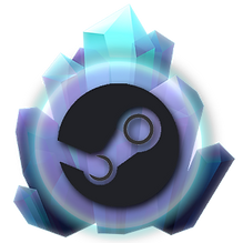 About Kristala glowing crystal icon: demo available on Steam Marketplace