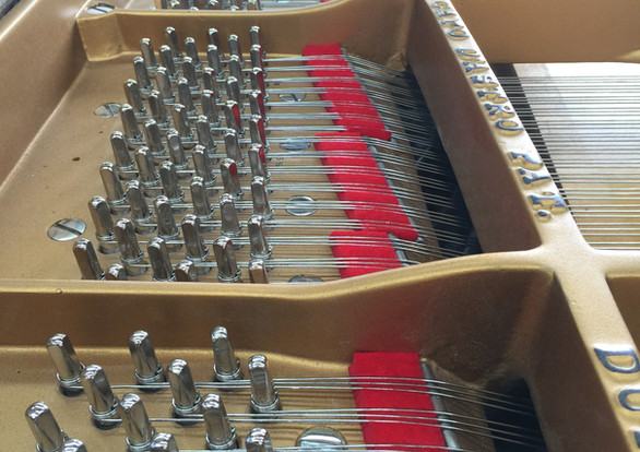 Completed Rebuild - Tuning Pins/Strings/Plate Felt