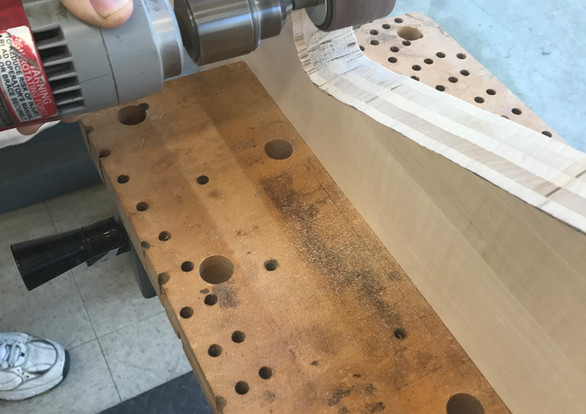 Fitting a New Pinblock