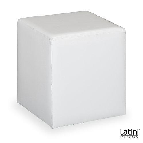 Pouf Victoria Bianco